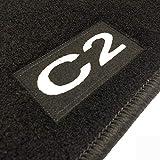 Alfombrillas Citroen C2 a Medida Logo | Rey Alfombrillas®