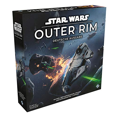 Asmodee Star Wars: Outer Rim, Strategiespiel, Expertenspiel, Deutsch