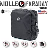 Mission Darkness MOLLE Faraday Pouch. Military-Grade Bag Attaches to Any MOLLE...