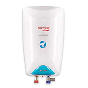Hindware Atlantic Convenio 3 Litre Instant Geyser (3kW, White)