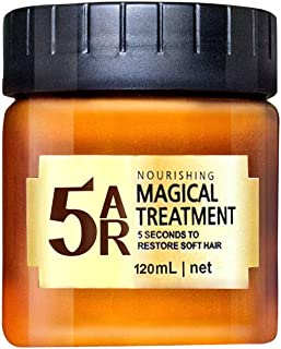 Advanced Molecular Hair Roots Treatment Hair Conditioner, Weite Hair Detoxifying Hair Mask Deep Conditioner Molecular Hair Roots Treatment 120 ML, 5 Seconds to Restore Soft Hair