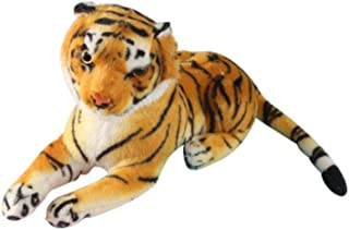 Clearance Sale!DEESEE(TM)🍁🍁Simulation Yellow White Tiger Plush Toy Pillow Comfort Decorative Pillow (Yellow)