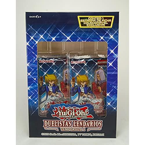 Box Yu-Gi-Oh! Duelistas Lendários Temporada 1 Cards Cartas Boosters Konami - SUIKA