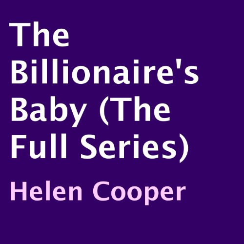 The Billionaire's Baby audiobook cover art