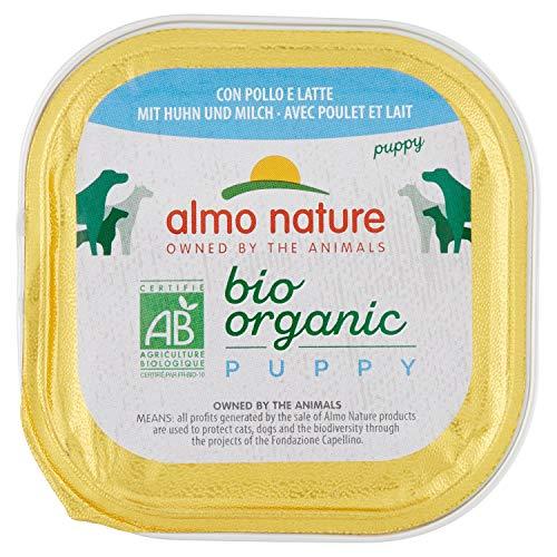Almo Bio Pate Chien Poulet/Lait 100 g