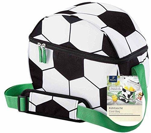 Tchibo TCM Kühltasche Fussball für unterwegs Picknick Tasche Ausflug