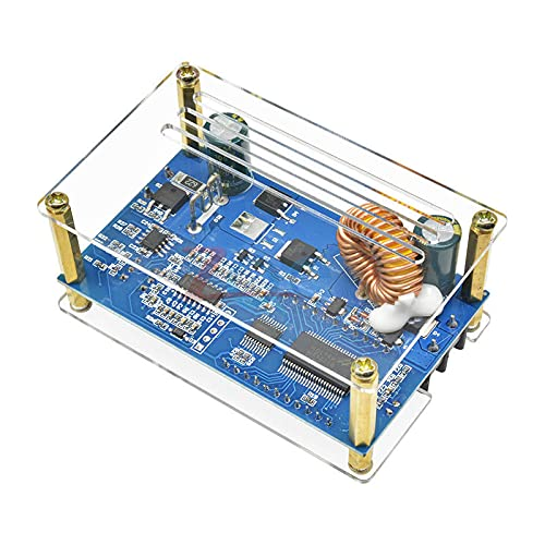 DC-DC DC 9-45V to 10-50V 5A Step Up Power Supply Module Adjustable Boost Adapter CV/CC Converter LCD Display with Case