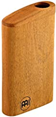 "Mahogany Body: at 8 1/2"" Tall and made of mahogany, the Meinl Travel Didgeridoo is small in size but big in sound Authentic sound: an internal baffle directs air through a zigzag channel, turning it into an impressive drone note with harmonic overton..."
