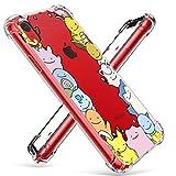 coralogo for iphone xr tpu case, 3d cute cartoon funny design animal character protective kawaii