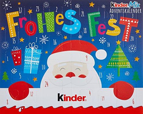 Kinder Mix Tisch-Adventskalender, (1 x 127 g)