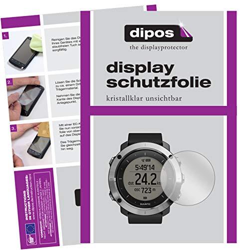 dipos I Schutzfolie kompatibel mit Suunto Traverse Displayschutz-Folie klar