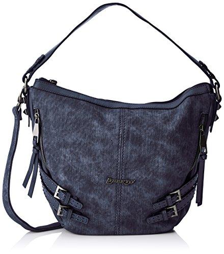 Liberto 171003, Bolso de mano para Mujer, Azul (Jeans), 13x25x32 cm (W x H x L)