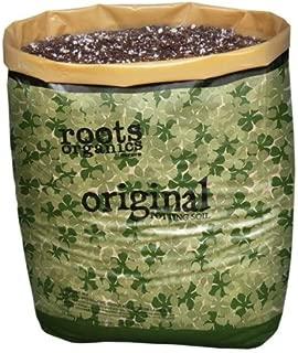 roots organic soil bulk