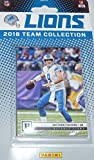 Detroit Lions 2018 Panini Factory Sealed Team Set with Matthew Stafford, Golden Tate, Kerryon Johnson Rookie Card plus. rookie card picture