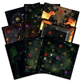 Steamforged Games Dark Souls The Board Game: Darkroot Basind and Iron Keep Gaming Tile Set
