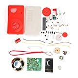 HX108-2 7 Tube Radio Electronic DIY Kit Electronic Learning Set Radio Parts sin batería Receptor Módulo PCB DIY Electronic Kits