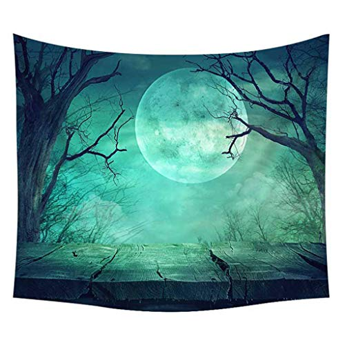 Tunic Tapestry  Halloween Tapestry Pumpkins Tree Print Wall Hanging Tapestry Art Home Decoration Home & Garden Home Textiles Christmas for Faclot