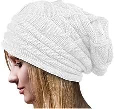 iYBUIA 2018 Winter Women Crochet Hat Wool Knit Beanie Warm Caps