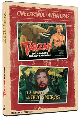Cine Español - Aventuras - Tarzán En Las Minas Del Rey Salomón...