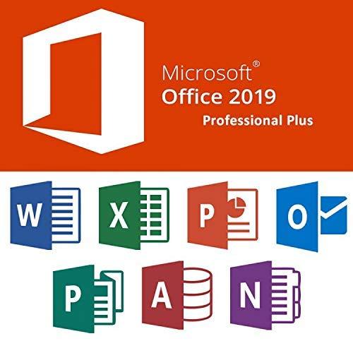 Office 2019 Professionel Plus 32/64 bits Key VKQ | Licence pour 1PC ( seulement pour windows 10 ) | Original Clé de Licence Français | Licence uniquement | - Livraison 2-6h par E-mail-