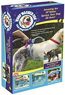 Woof Washer 360 pet dog Gently clean canine coats with ring-shaped(Only USA)