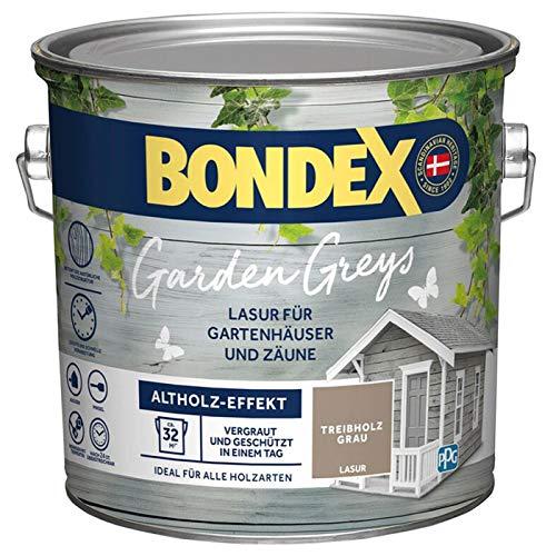 Bondex Garden Greys Lasur Treibholz Grau 2,5 l - 434127