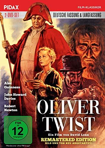 Oliver Twist - Remastered Edition / David Leans aufwändiges Meisterwerk mit neu abgetastetem Bild und Ton in der deutschen und in der Langfassung (Pidax Film-Klassiker) [2 DVDs]