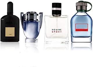 Perfume para hombre de 25 ml 4 piezas de diferentes tipos perfecto para tu padre novio u otro amigo masculino