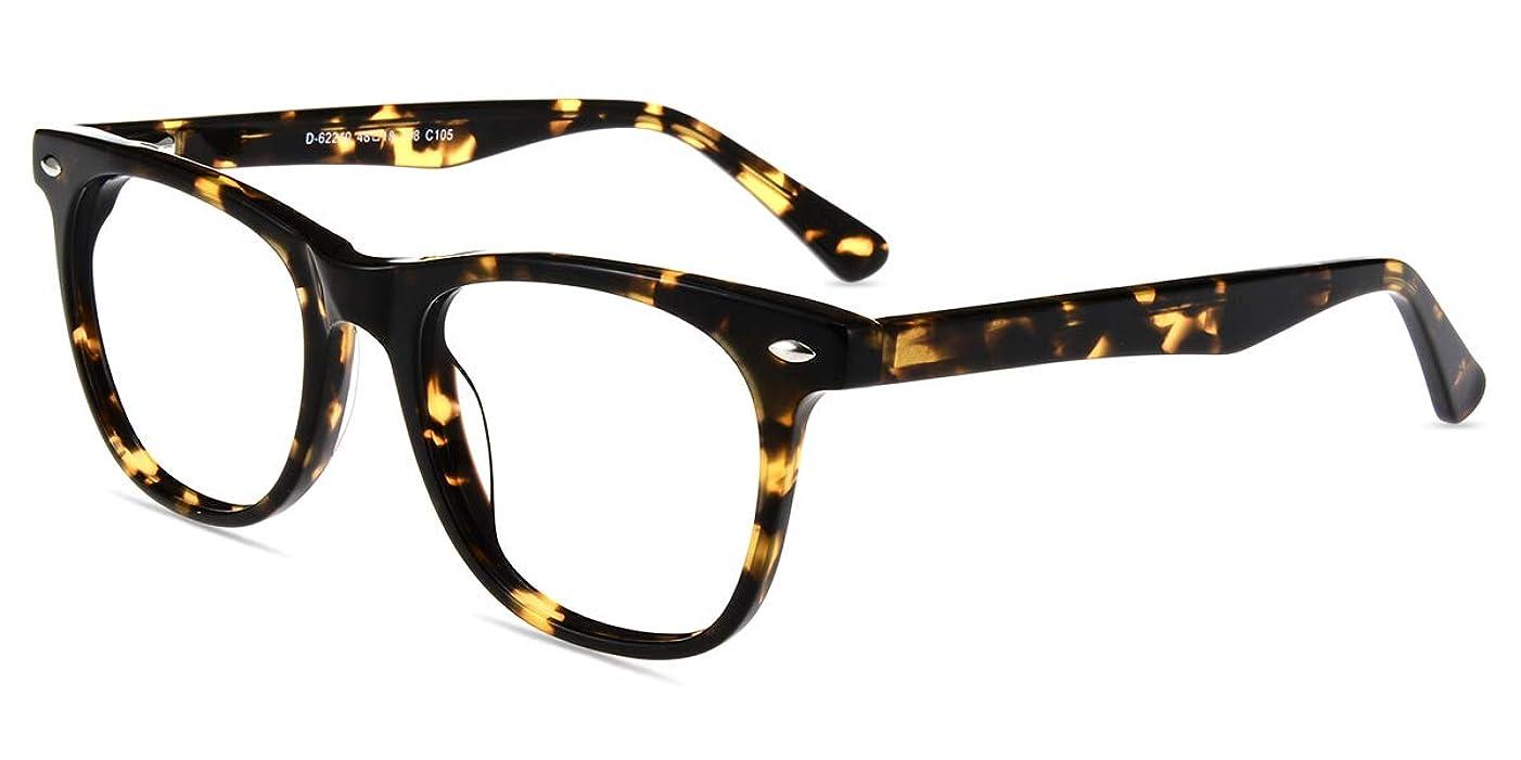 Firmoo Blue Light Blocking Glasses Reduce Eye Strain Computer Glasses Block UV Reflection Tortoise Square Eyewear Frames Gaming Glasses for Women Men