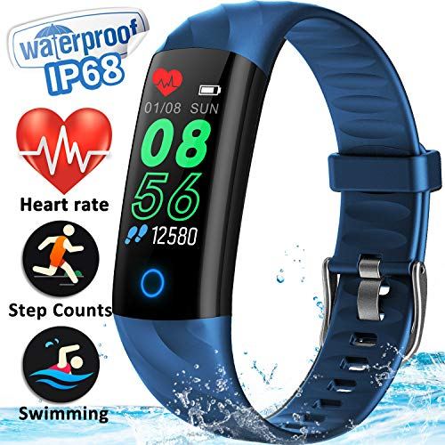 GBD Fitness Tracker Watch with Blood Pressure HR Monitor for Kids Women Men Him Birthday Gifts...