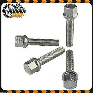 SilverLine Spurverbreiterung 40mm 12120E/_77/_M1415KU47Q 20mm mit Schrauben schwarz 5x112 57,1mm