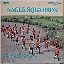 MILITARY BAND OF ROYAL SCOTS GREYS EAGLE SQUADRON vinyl record