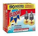 Bloom Max Insecticida Electrico Líquido contra moscas, y mosquitos común y tigre - Pack de 2 Recambios