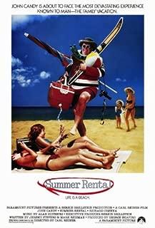 Summer Rental Movie Poster (11 x 17 Inches - 28cm x 44cm) (1985) Style A -(John Candy)(Rip Torn)(Richard Crenna)(Karen Austin)(Kerri Green)(John Larroquette)