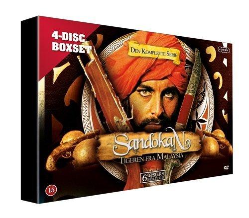 Sandokan - Complete Series [Skandinavien Import][4 DVDs]