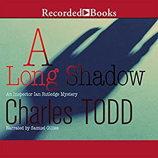 A Long Shadow audiobook cover art