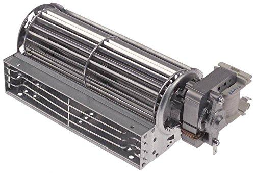 Ugur YJ61-16A-HZ03 - Ventilador transversal para USD374GD (27 W, diámetro del rodillo 60 mm, 180 mm, motor derecho, 230 V, 50/60 Hz, conector plano 6,3 mm)
