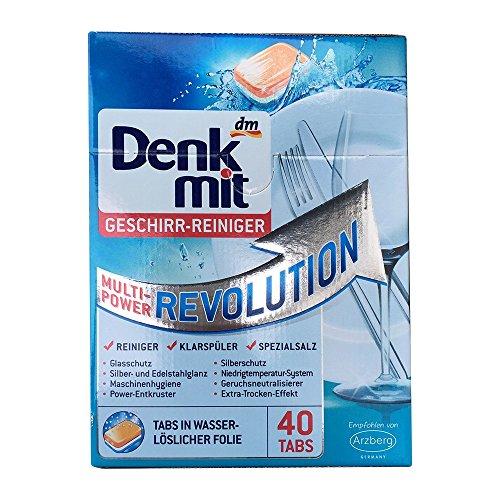 DenkMit Multi Power Revolution Geschirreiniger (40 Stck. Packung)