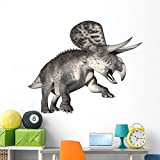 Wallmonkeys Zuniceratops Dinosaur Wall Decal Peel and Stick Animal Graphics (60 in W x 45 in H) WM76698