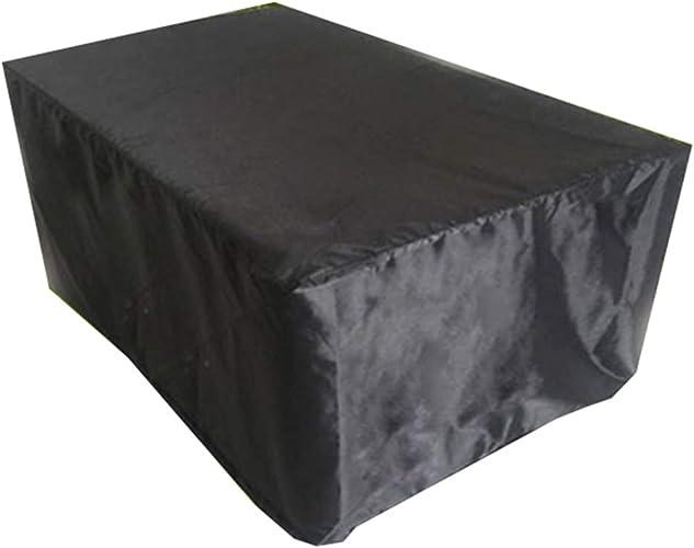 WQQTT BacheTissu de Pluie Prougeection Contre la Pluie pour Le mobilier d'extérieur, Table et Chaise Anti-poussière de Jardin, écran Solaire imperméable BacheTissu de Pluie