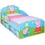 Peppa Pig-Lit pour enfants avec espace de rangement sous le lit
