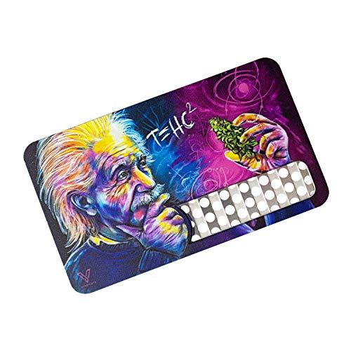 V-Syndicate Grinder Card - Einstein T=HC2 - Die perfekte Mühle/Grinder/Reibe im Scheckkartenformat - Für Kräuter und Tabakwaren