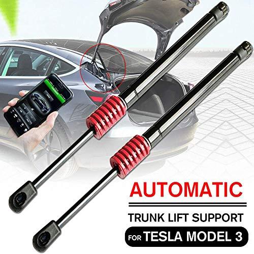 Gcdn 1 Par Automático Maletero Elevador Soporte Maletero Puntales con Muelle para para Tesla Modelo 3 Accesorios