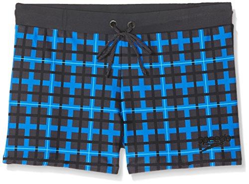 Speedo–Costume da elettrico flash Valmilton Aqua shorts, Ragazzi, Electric Flash Valmilton, Oxide Grey Black Ultramarine, 38