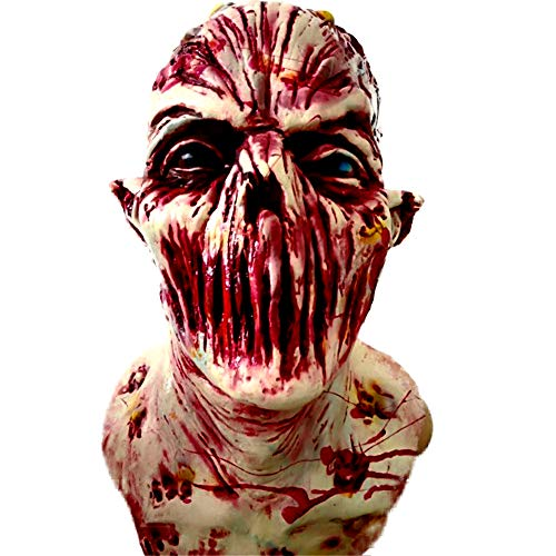 WSNBB - Máscara de látex para Halloween, para...