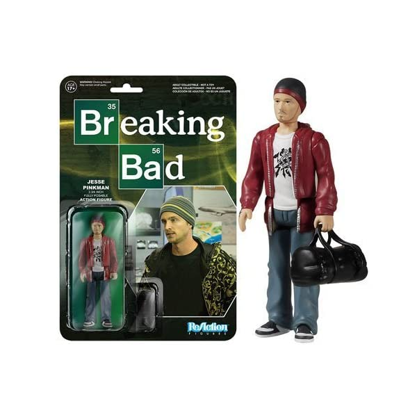 Breaking Bad Jesse Pinkman ReAction 3 3/4-Inch Retro Action Figure by Breaking Bad 1