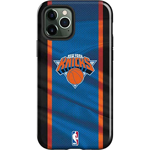 Skinit Impact Phone Case Compatible with iPhone 12 Pro Max - Officially Licensed NBA New York Knicks Away Jersey Design