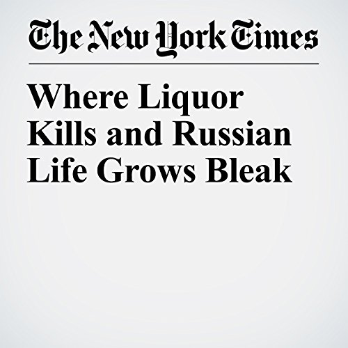 Where Liquor Kills and Russian Life Grows Bleak copertina