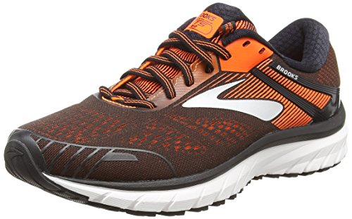 Brooks Adrenaline GTS 18 (Black/Orange/Ebony, Numeric_8_Point_5)