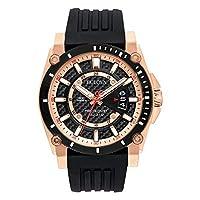 Deals on Bulova Men's 98B152 Precisionist Analog Chronograph Black Watch
